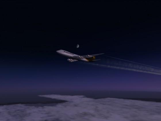 Nachtflug Impressionen