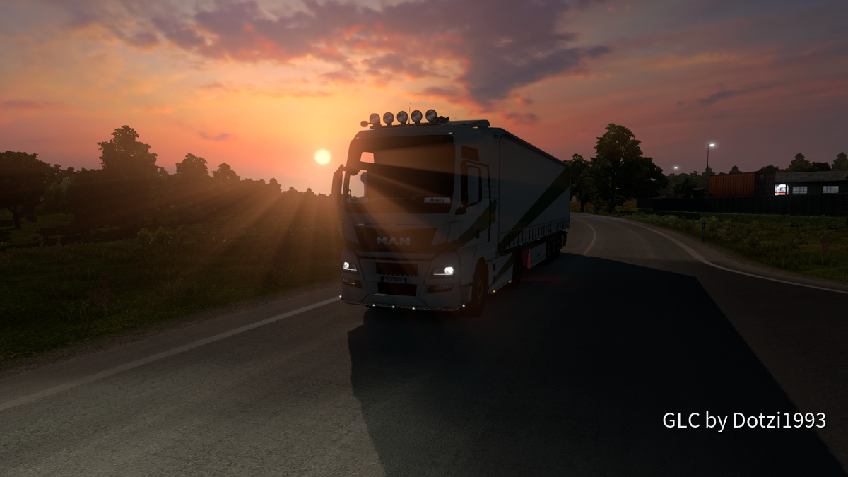 Sonnenuntergänge sind doch was schönes...