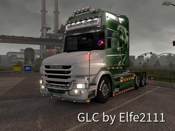 Endlich mein Scania T wieder