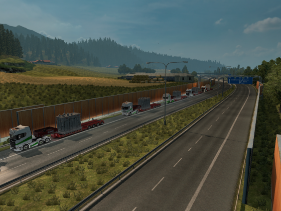 Unser Convoy am 10.03.2018