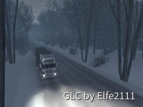 Winter in Frankreich