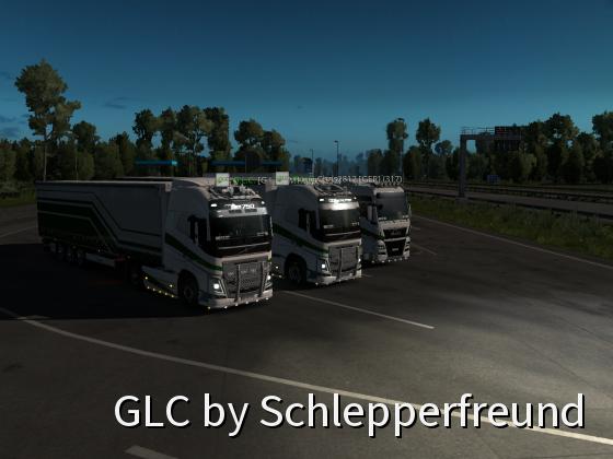 Fahren mit G.L.C. Kollegen