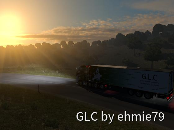 Der neue Kühltrailer der G.L.C